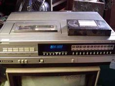 Beta VCR... yeah, I owned one...:)