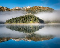 Morning Has Broken - Black Lake, Durmitor National Park. Montenegro. Paul Byrne Photography