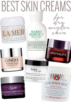Got dry skin? Try one of these skin creams and get rid of that dry winter skin fast.