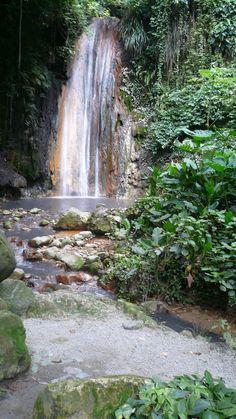 Diamond Waterfall, Botanical Gardens, Soufriere, Saint Lucia Southern Caribbean Cruise, Saint Lucia, Barbados, Botanical Gardens, North America, Waterfall, Diamond, Photography, Animals