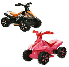 Kids Ride On Quad Bike Electric 6v Rechargeable Battery Car Yard