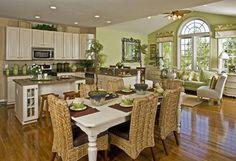 Morning room on pinterest breakfast nooks window seats for Kitchen morning room designs