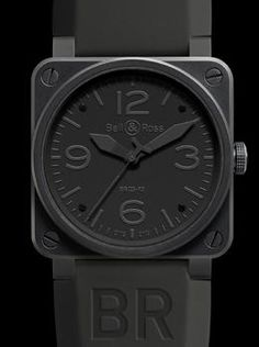 Bell & Ross BR03-92 Instrument Phantom, available at London Jewelers.