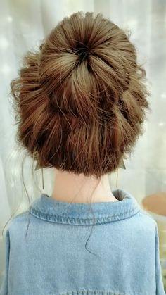Oscar Hairstyles, Bun Hairstyles For Long Hair, Trendy Hairstyles, Braided Hairstyles, Anime Hairstyles, Hairstyles Videos, Office Hairstyles, School Hairstyles, Hair Updo