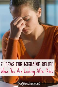 Natural Headache Remedies Ideas for Migraine Relief When You Are Looking After Kids - Crafts on Sea Headache Humor, Severe Headache, Tension Headache, Home Remedy For Headache, Natural Headache Remedies, Migraine Relief, Pain Relief, Migraine Solution