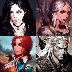 The Witcher 3 fan arts [2015] | Kuvshinov Ilya on Patreon