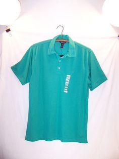 Steve & Barry's BUBBA GOLF Shirt - Size S / SMALL - GREEN - BUBBAGOLF - NWT  #BUBBAGOLFSTEVEBARRYS #vintagephilly