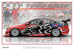 Print 08 Photo: Todd Kelly : VE wins on debut. This Photo was uploaded by Velocemoto Australian V8 Supercars, Car Prints, Laide, Funny Disney Memes, Racing Team, Car Wrap, Cool Websites, Rally, Touring