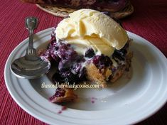Fresh Blueberry Pudding Cake - TSLC