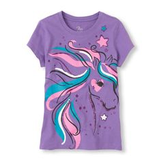 Your horse lover will sparkle in this pretty tee!