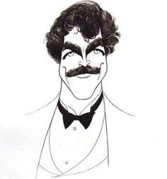 Al Hirschfeld Caricatures | Tom Selleck