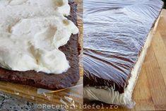 PRAJITURA KINDER FELIE DE LAPTE - Rețete Fel de Fel Desserts, Hip Bones, I Love, Tailgate Desserts, Deserts, Postres, Dessert, Plated Desserts