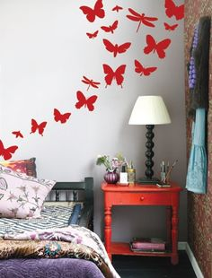 25 Best Butterfly room decor images   Butterfly bedroom ...
