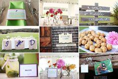 great wedding collage at Bourne Farm with www.dulcepress.com