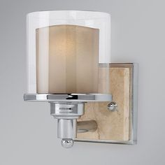 Belleaire Sconce In Chrome  Each year Feiss gathers inspiration for across the country and across the world to bring you fresh designs spanning from traditional to contemporary styles, all with an eye to delivering the high quality details and strive to ensure their products generate an emotional connection with you and your space