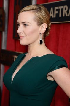 Pin for Later: Let These Celebrities Inspire Your Bridal Hairstyle Kate Winslet