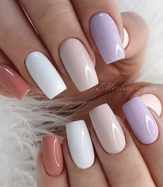 When you attend a dinner or formal occasion, this elegant nail is the best choice. You can use the nail polish and bright powder to shine. You don& need too difficult skills and too long to go out. It& a nail brush that everyone can easily use. Nail Polish Designs, Acrylic Nail Designs, Nail Art Designs, Acrylic Nails, Cute Nail Art, Cute Nails, Pretty Nails, Fabulous Nails, Perfect Nails