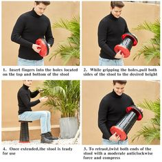 Best Quality & Bearing Capacity: Made of high strength nylon ABS. Heavy duty materials for long lasting durability. The internal structural design is unique which makes the stool extra strong and safe and can effortlessly hold up to 330 lb ! Collapsible Stool, Portable Stool, Camping Stool, Folding Camping Chairs, Folding Seat, Folding Stool, Spooning Pillow, Cheap Beach Chairs, U Shaped Pillow
