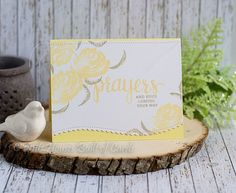 Houses Built of Cards: Prayers and Hugs - with Altenew Florals