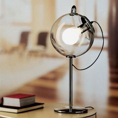 New Miconos Bubble Clear Glass Table lamp Desk lamp Light - Home Office Accessories /
