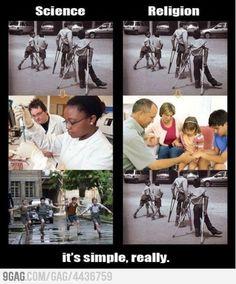 Science VS Religion...