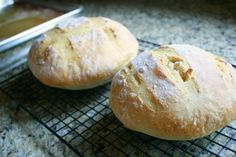 Easy homemade artisan bread.