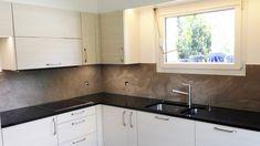 Grand Format, Kitchen Cabinets, Home Decor, Countertop, Kitchen Modern, Decoration Home, Room Decor, Cabinets