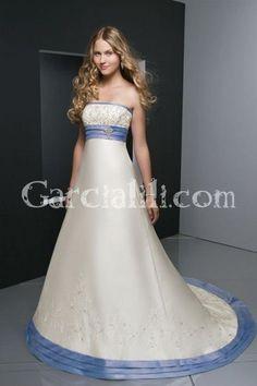 Garcialili - 17667 pretty color on a wedding gown