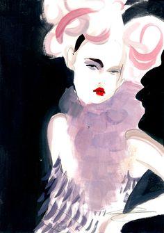 Poppy Waddilove - Dior S/S98 「Moving Kate」展では、日本人アーティストおざぶ(Ozabu)をはじめ、Laura LaineやKukula、Cecilia Carlstedtなど30人のファッションイラストレーターが参加。アレキサンダー・マックイーン(Alexander McQueen)やジョン・ガリアーノ(John Galliano)、ヴィヴィアン・ウエストウッド(Vivienne Westwood)といったデザイナーのために、ケイト自身が選んだ象徴的なキャットウォークの姿をアーティストたちが描いた作品を展示する。ケイト・モスは「私がキャットウォークの際に身に付けた信じられないほど沢山の衣装を改めて振り返る機会に巡り会えたことや、それらがどのようにSHOWstudioのファッションイラストレーターの目に映り、印象を与えたかを見る機会を得られることは、とても嬉しいことでした」とコメント