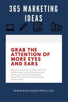 Real estate marketing strategies can make your break your business. You need the right real estate marketing ideas in order to succeed. But how do you find the right ones?