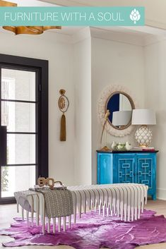 Buffet $449 Now THIS is how you do bold color! Don't be afraid to add a little color to your design with our array of painted furniture. Match with a super cool statement piece and you're in design heaven!  📷: @nancyparrishinteriors Nadeau Furniture, Zen Space, Bohemian Soul, Bold Colors, Your Design, Home Furnishings, Painted Furniture, Envy, Buffet