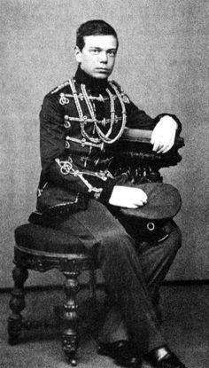 Tsar Alexander III as a young man, 1861 (when still Grand Duke Alexander Alexandrovich (1845 – 1894),