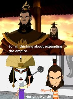 Roku should've been more decisive. - TheLastAirbender Avatar The Last Airbender Funny, The Last Avatar, Avatar Funny, Avatar Airbender, Avatar Cartoon, Avatar Kyoshi, Korra Avatar, Team Avatar, Avatar Studios