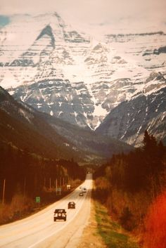i just want to go where there are mountains.