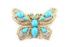 1950's Trifari butterfly pin