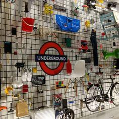 Design museum London #design  #lighting #light #ikea #levis #olivetti #nokia #fender #tfl #londonunderground #super8 #ipodclassic #samsonite #allstars #gameboy #nutella #sottsass Can you spot them all?