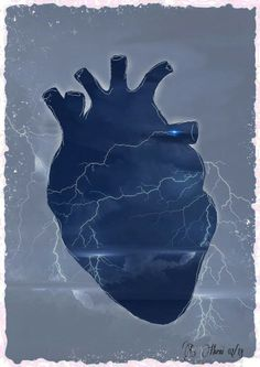 lightning heart Heart Anatomy, Anatomy Art, Illusion Photography, Art Photography, Anatomical Heart, Heart Images, Human Heart, Art Themes, Dope Art