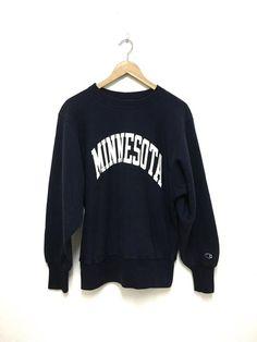 e82bb6827e8f Vintage Champion Minnesota Reverse Weave size m Sweatshirt Sweater Jumper  Pullover men long sleeve