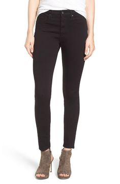 Free shipping and returns on AG 'Farrah' High Rise Skinny Jeans at Nordstrom.com. Fitted from the waist to the ankles, these versatile black skinny jeans are made from an innovative, high-performance blend of fabrics that provides a hint of stretch with incredible shape retention, sculpting a flawless silhouette that streamlines your curves.