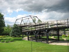 Yellow Bank Church Campground Bridge in Lac qui Parle County, Minnesota.