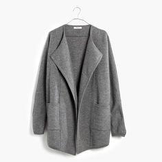 Oversized Sweater-Jacket