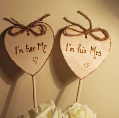2 Heart Cake Topper Rustic Cake Topper I'm her by Melysweddings, Rustic Wedding, Wedding Day, Wedding Stuff, Wedding Things, Wedding Reception, Diy Wedding Cake Topper, Wedding Cakes, Wedding Jitters, Rustic Cake Toppers