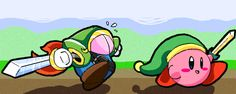 Kirby and Blade by SillyaParrot on DeviantArt