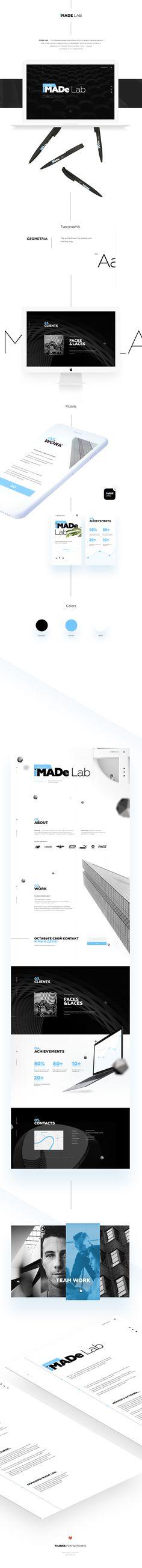 Ознакомьтесь с моим проектом @Behance: «iMADE Lab. Website» https://www.behance.net/gallery/48556173/iMADE-Lab-Website