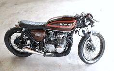 Honda CB550 Four Cafe Racer - Callum Methley #motorcycles #caferacer #motos   caferacerpasion.com