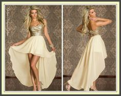 Ladies Gorgeous Short Chiffon Floaty Dress #womens #party #dress