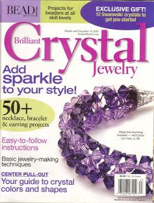 Brilliant Crystal Jewelry by Bead & Button 50 Jewelry Projects Dec 2006 106 p Seed Bead Patterns, Jewelry Patterns, Beading Patterns, Beading Techniques, Beading Tutorials, Beading Ideas, Crystal Jewelry, Beaded Jewelry, Beaded Necklaces