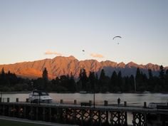 Sunset over The Remarkables Queenstown