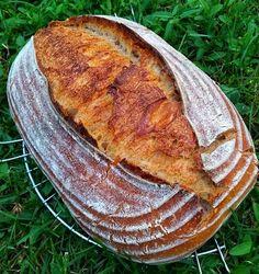 Mám kvások, čo s ním? Frappe, Kefir, Bread Baking, French Toast, Breakfast, Ethnic Recipes, Baguette, Bread Making, Morning Coffee