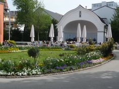 Free concerts twice a day in  Bad Woerishofen, Bavaria